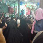 جشن شب نیمه شعبان در مسجد صاحب الزمان رابر برگزار شد/تصاویر