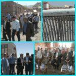 بزرگترین پایگاه اطفاء حریق جنوبشرق کشور ۹۵درصد پیشرفت فیزیکی دارد/۵۵آبگرمکن خورشیدی در چهار روستای رابربه بهره برداری رسید