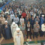 اقامه نماز باشکوه عید سعید فطر در رابر/تصاویر