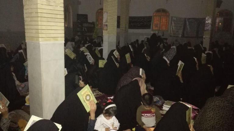 احیای شب نوزدهم رمضان در شهرستان رابر