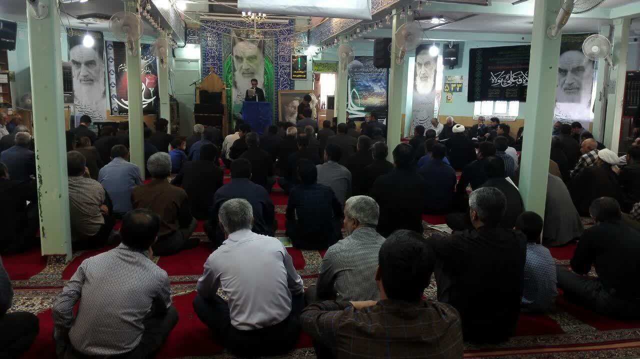 مراسم بیست و نهمین سالگرد ارتحال امام خمینی (ره) در شهرستان رابر برگزار شد/تصاویر