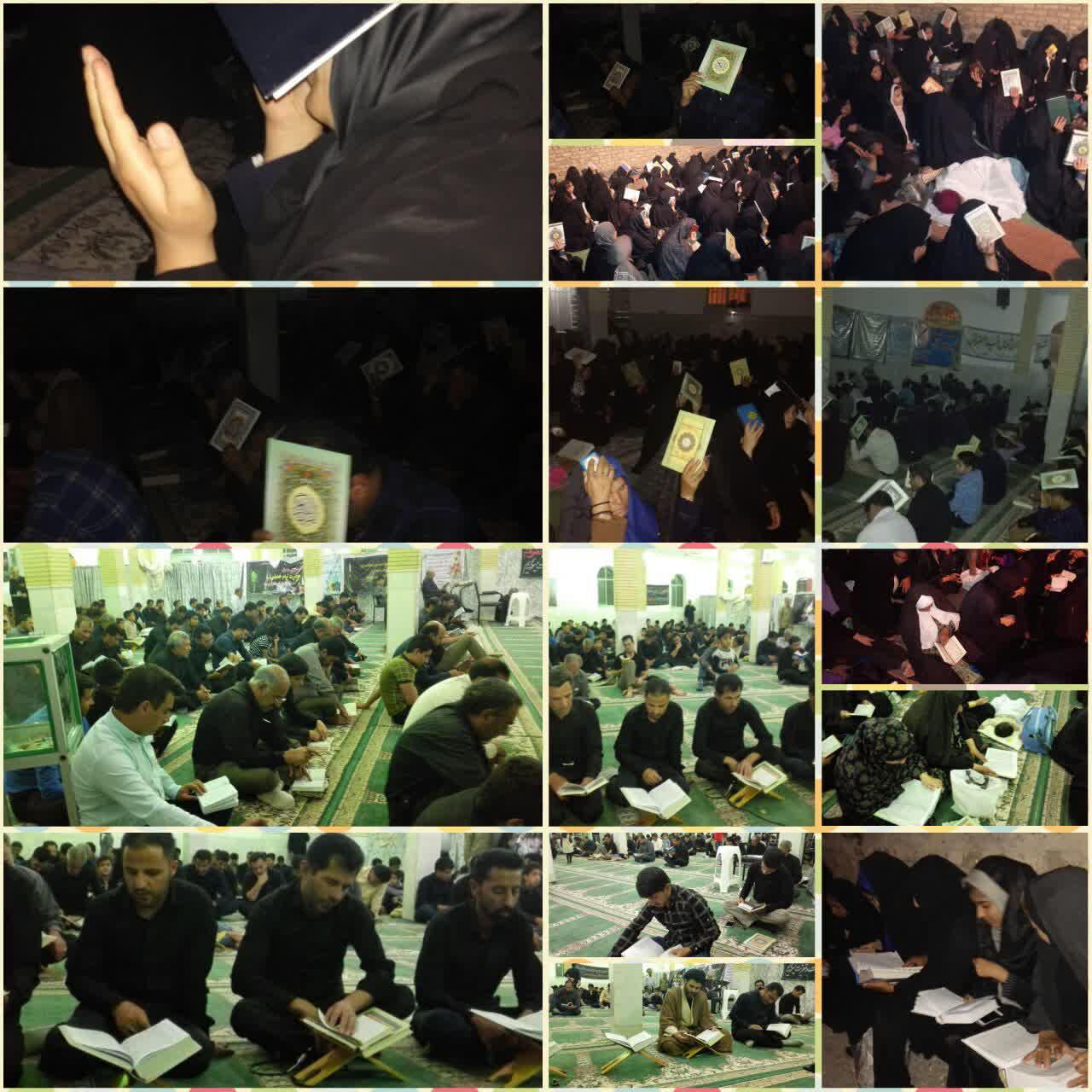 ندای العفو رابری ها در دومین شب از لیالی قدر طنین انداز شد/تصاویر