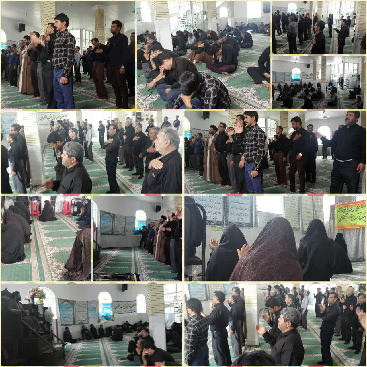 مراسم سوگواری شهادت مولای متقیان حضرت امیرالمومنین(علیه السلام) در رابر