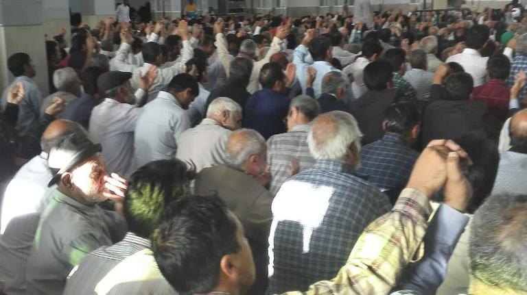 جشن بندگی بازمزمه دعای روحبخش ندبه در رابر /تصاویر