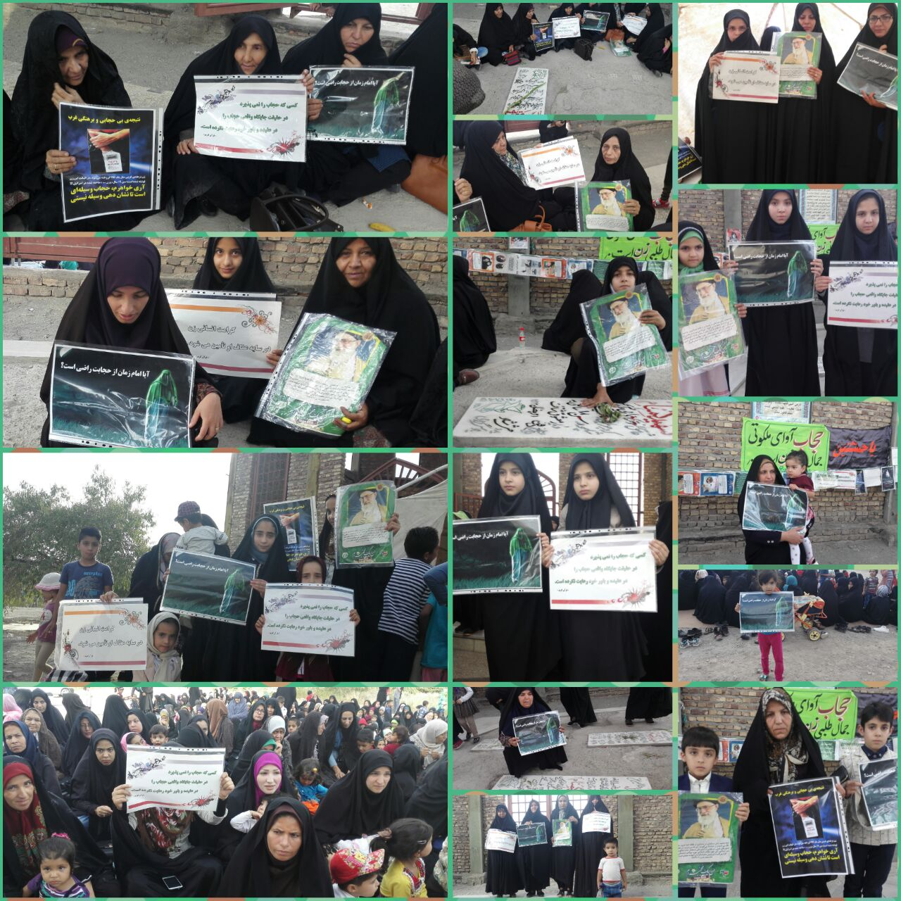 اجتماع مدافعان حریم خانواده در رابر/ تصاویر