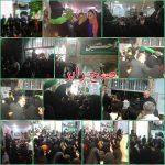 برگزاری جشن میلاد امام رضا(ع) با حضور خادمان حرم رضوی و حاملان پرچم امـــام حسیـن(ع) در رابر