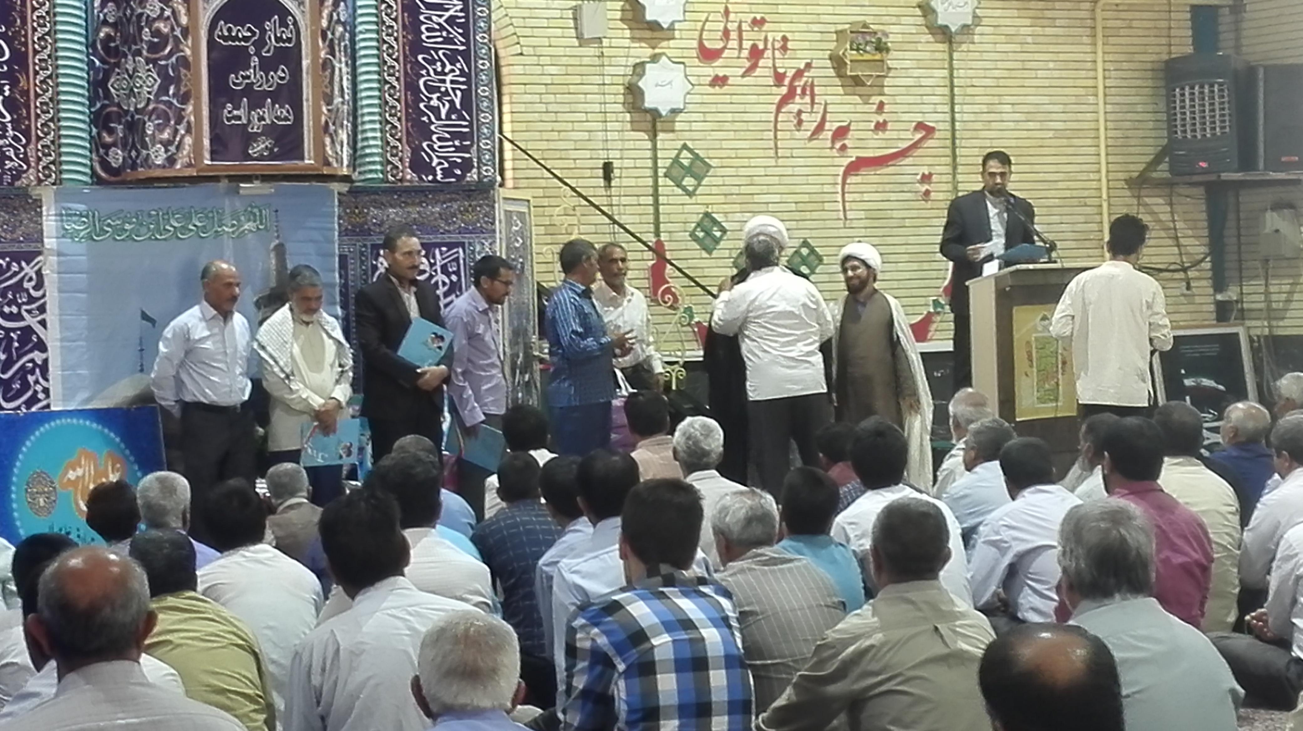 تجلیل از آزادگان و ایثارگران در رابر /تصاویر