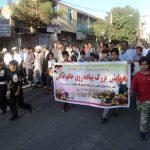 همایش پیاده روی خانوادگی در رابر به مناسبت هفته دفاع مقدس برگزار می شود