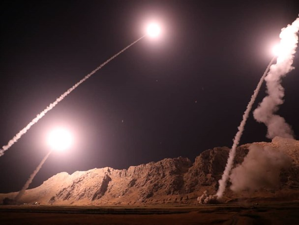 انتقام سپاه از تروریست ها/ حمله موشکی به مقر سرکردگان جنایت تروریستی اهواز در شرق فرات +تصاویر