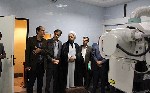 افتتاح بخش رادیولوژی دیجیتال امام خمینی (ره) رابر