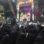 مراسم عزاداری دهه سوم محرم هیئت رزمندگان اسلام رابر/تصاویر