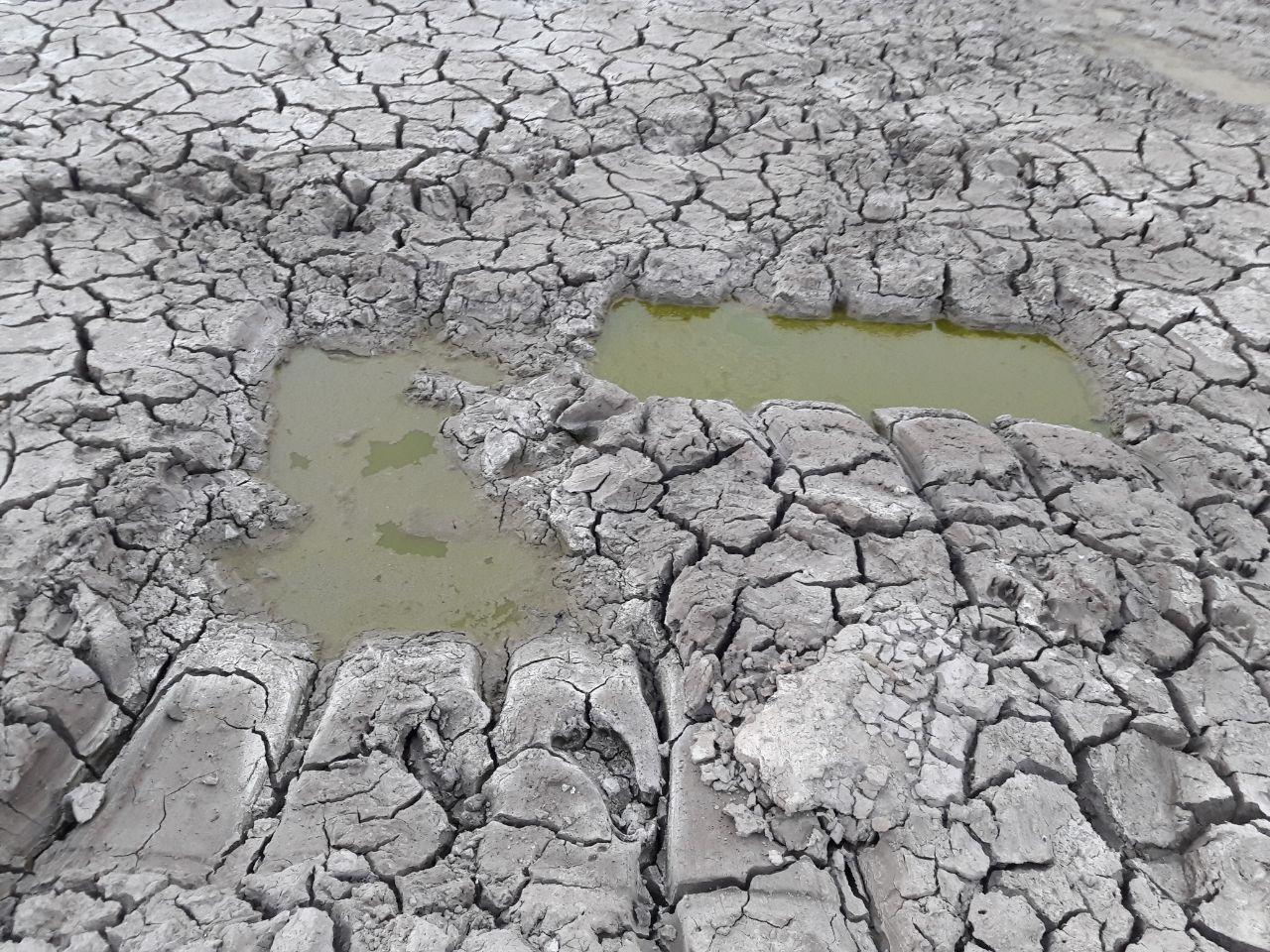 بزرگترین سدخاکی استان کرمان خشک شد