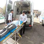 مانور پدافند غیر عامل دانش آموزی در رابر برگزار شد