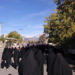 همایش پیاده روی خانوادگی در رابر به روایت تصویر