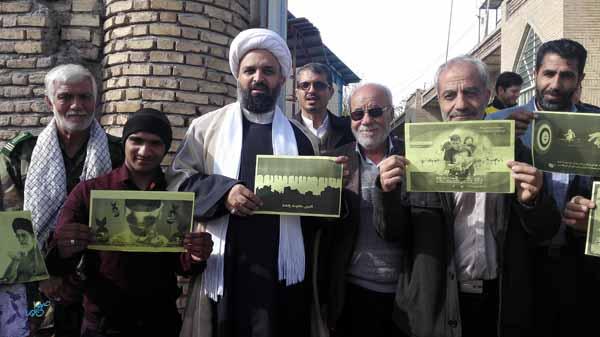 مردم زادگاه سردار سلیمانی در حمایت از مردم مظلوم یمن /تصاویر