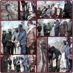 افتتاح کانال کشی جوی آب روستای بندر کبیر شهرستان رابر