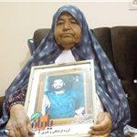 مادر سردار شهید اکبر جهانشاهی به فرزند شهیدش پیوست