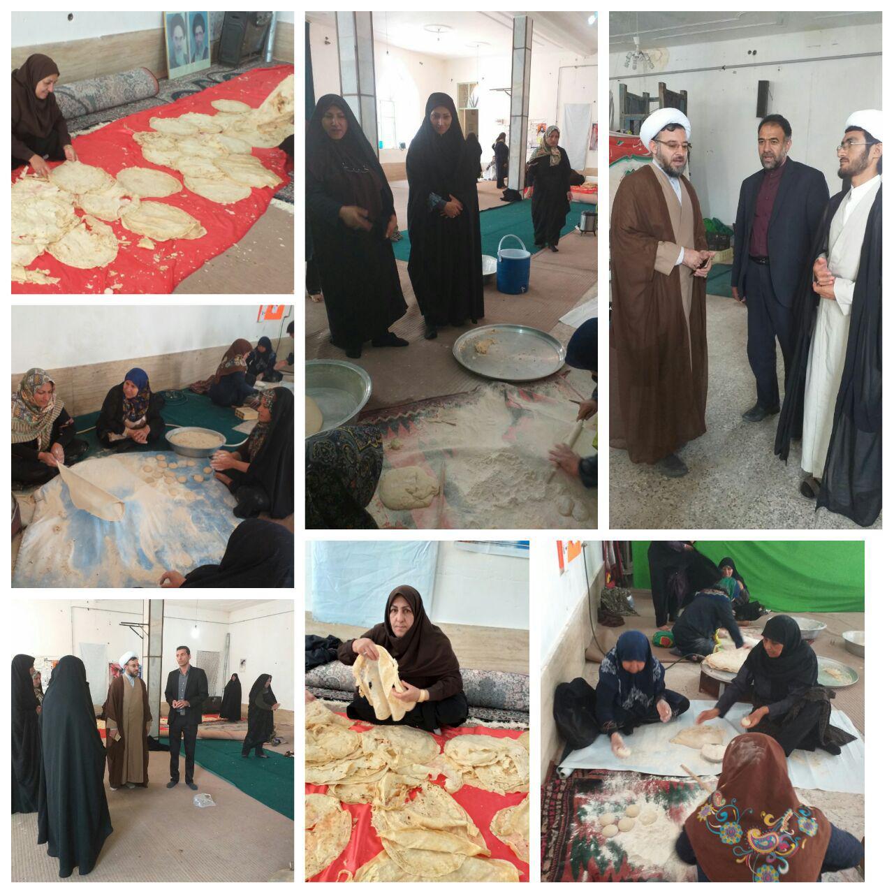 لبیک بانوان رابری به ندای سردار سلیمانی برای کمک به سیل زدگان خوزستان